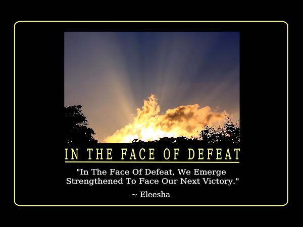 Defeat quote #6