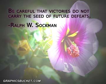Defeat quote #4
