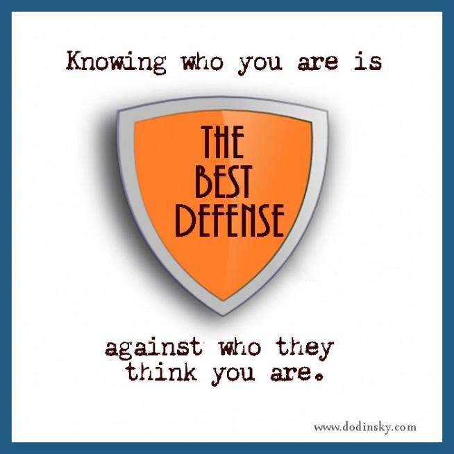 Defense quote #2
