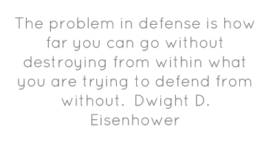Defense quote #7
