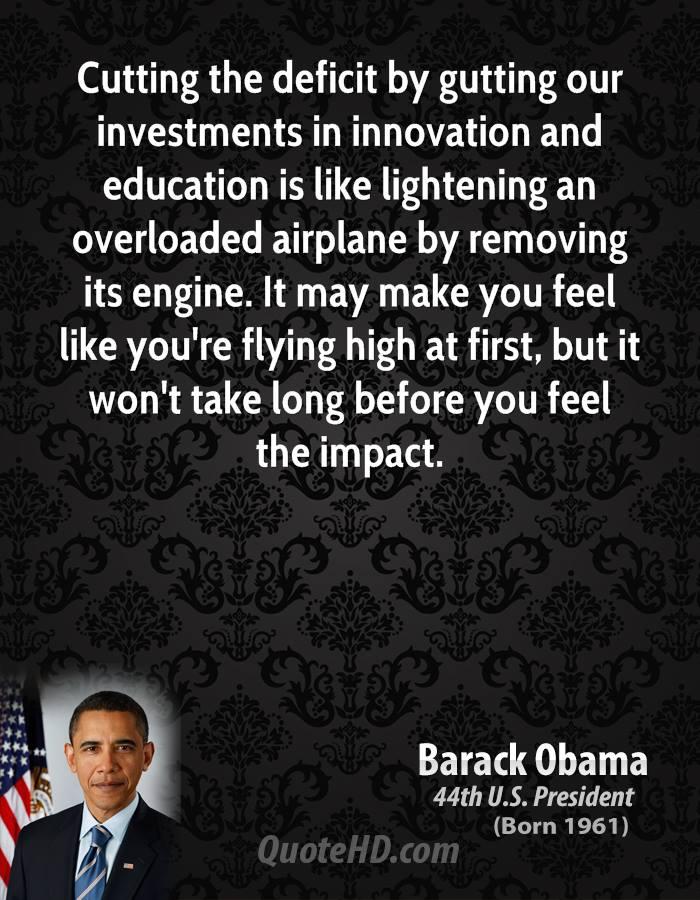 Deficit quote #4