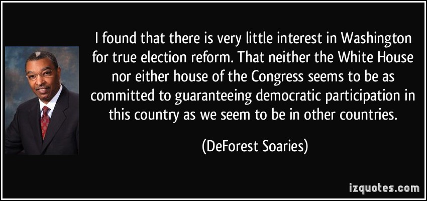 DeForest Soaries's quote #3