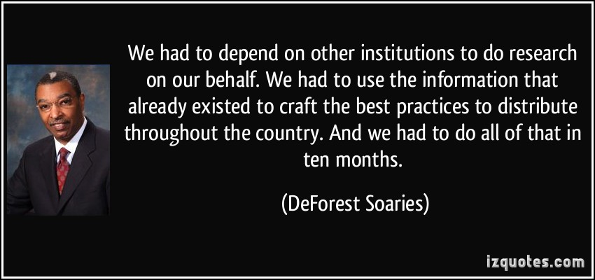 DeForest Soaries's quote #6