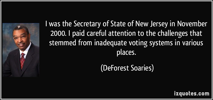 DeForest Soaries's quote #7