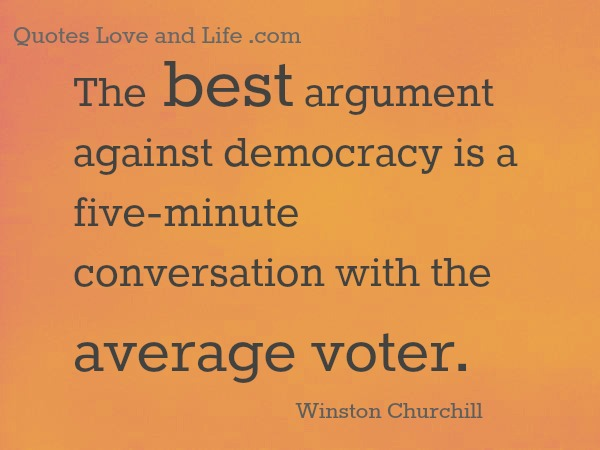 Democracy quote #2