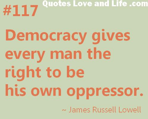Democracy quote #4