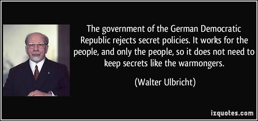 Democratic Republic quote #1