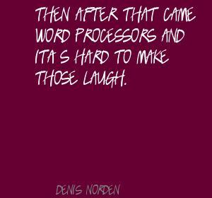 Denis Norden's quote #3