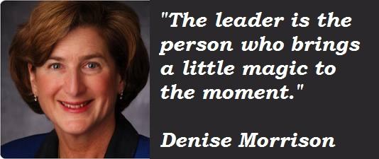 Denise Morrison's quote #4