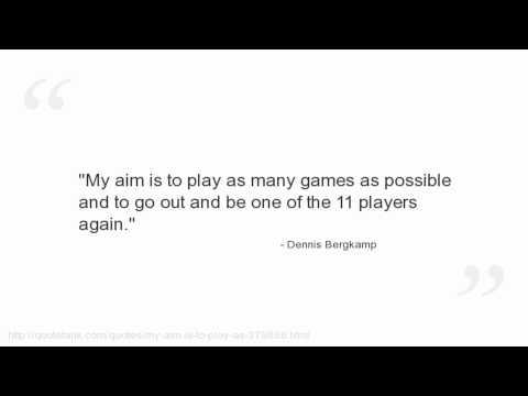 Dennis Bergkamp's quote #8