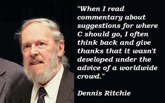 Dennis Ritchie's quote #5
