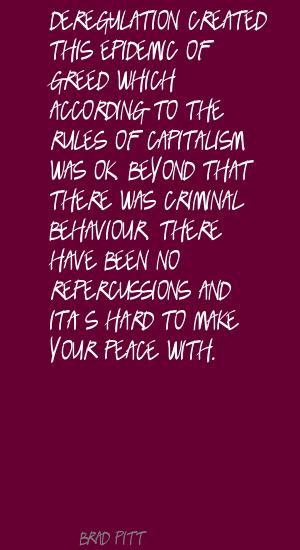 Deregulation quote #1