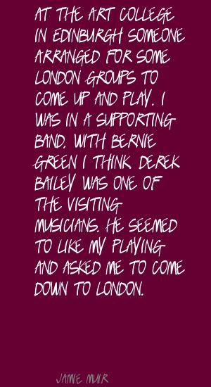 Derek Bailey's quote #1