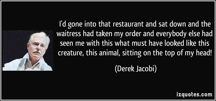 Derek Jacobi's quote #2