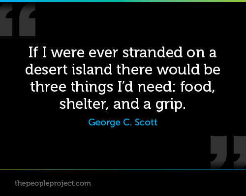 Desert Island quote #2