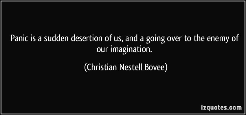 Desertion quote #2