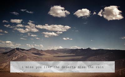 Deserts quote #1