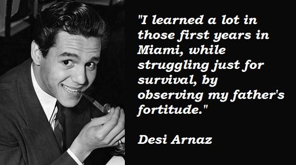 Desi Arnaz's quote #5
