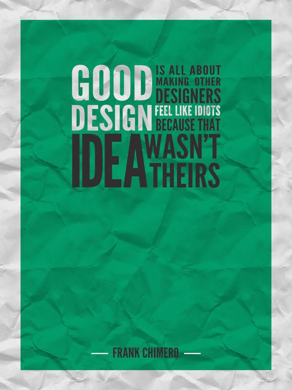 Design quote #5