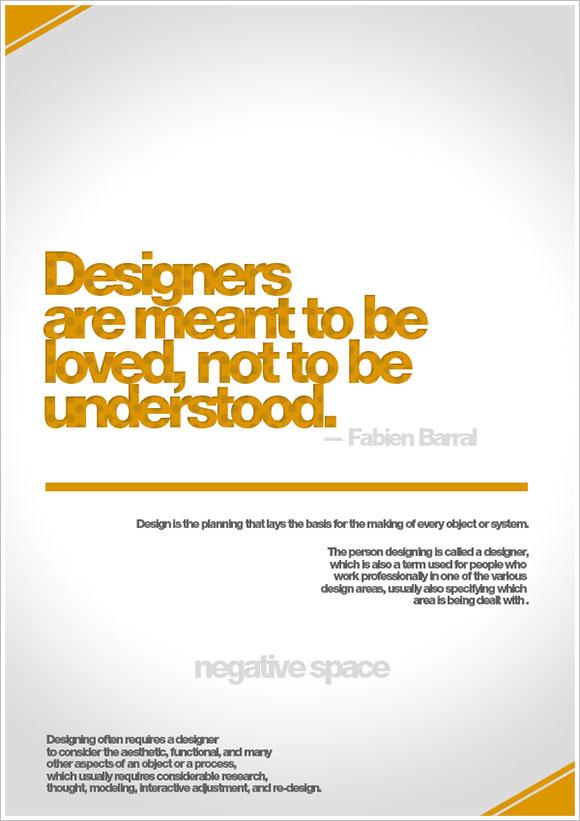 Designing quote #1
