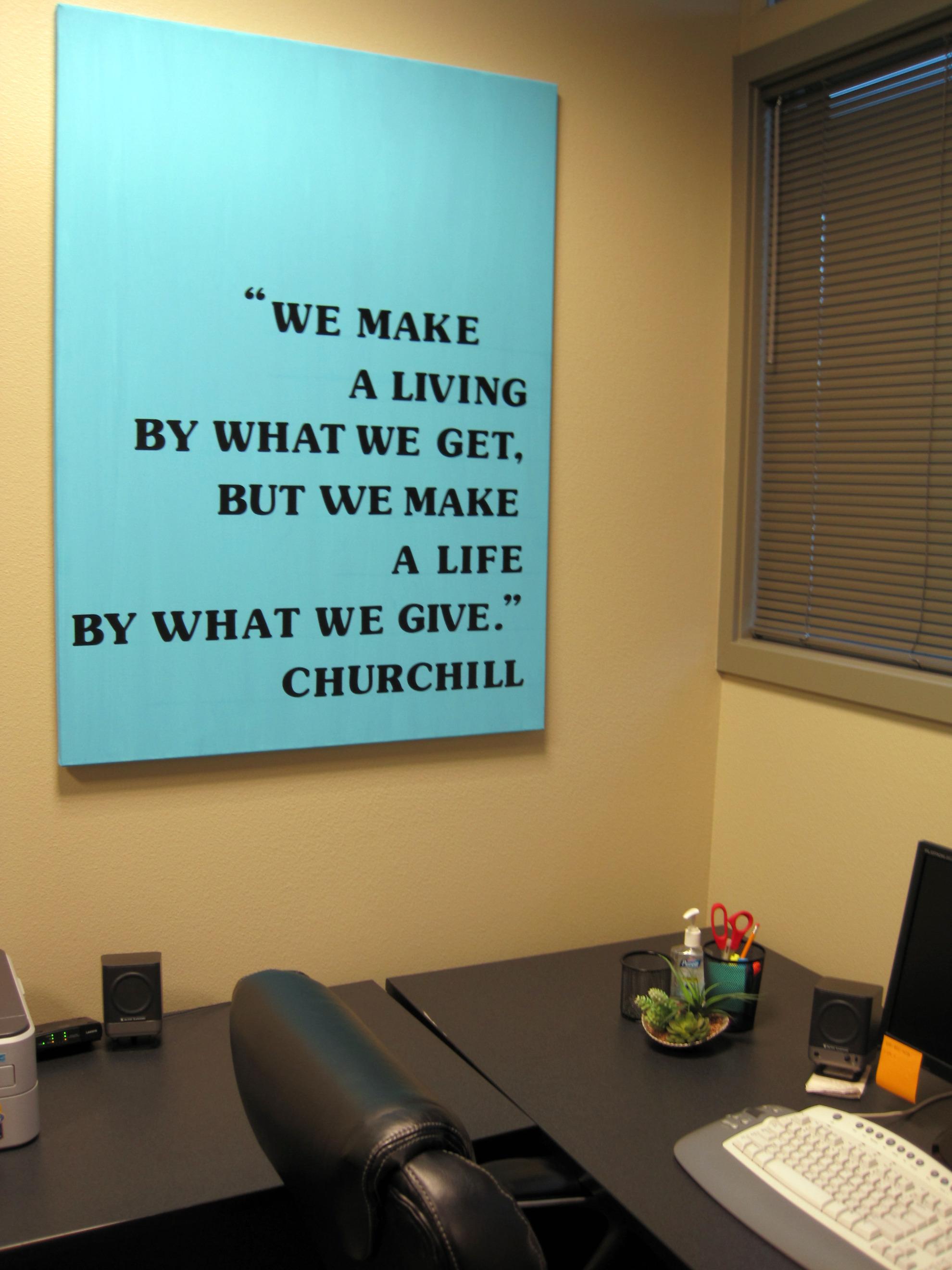 Desk quote #3