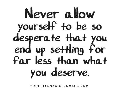 Desperate quote #6