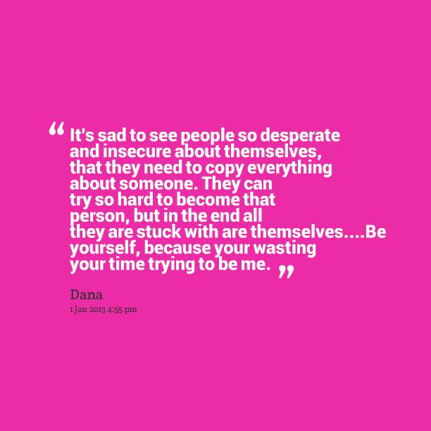 Desperate quote #1