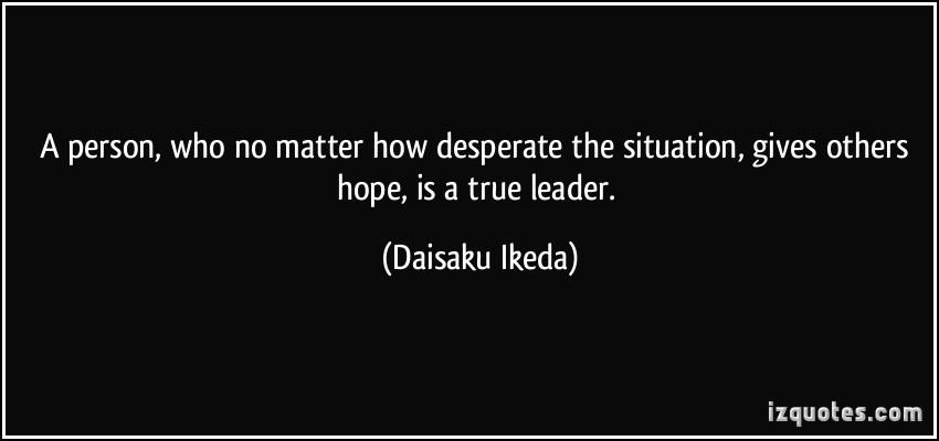 Desperate quote #4