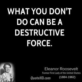 Destructive quote #1