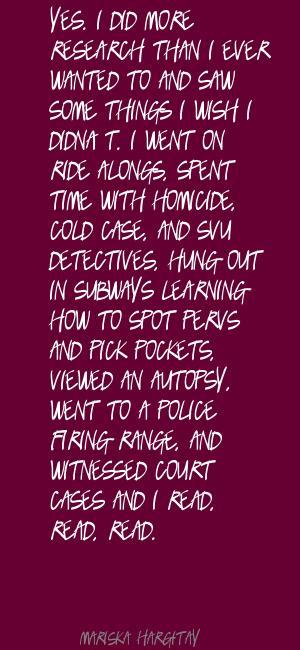 Detectives quote #2