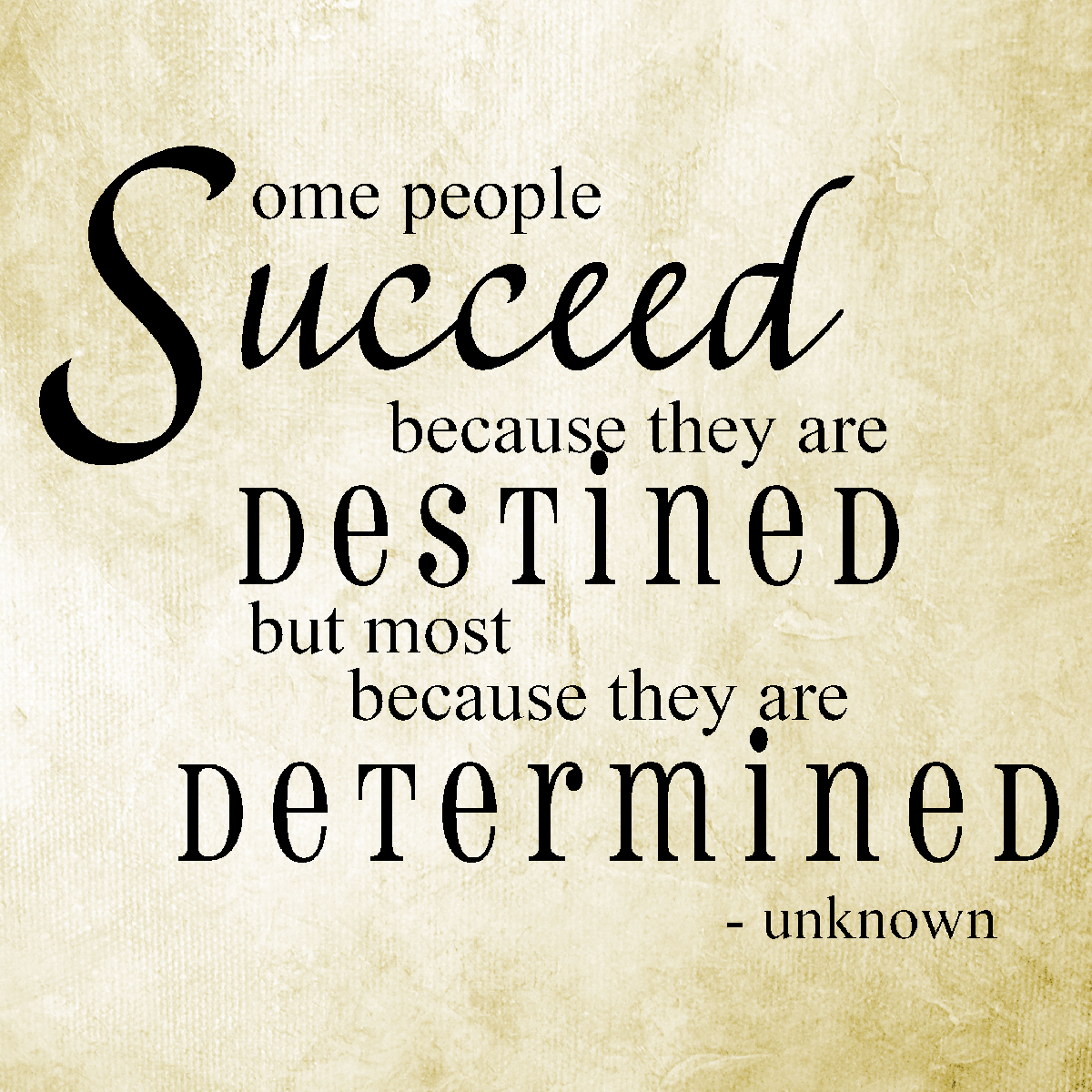 Determined quote #5