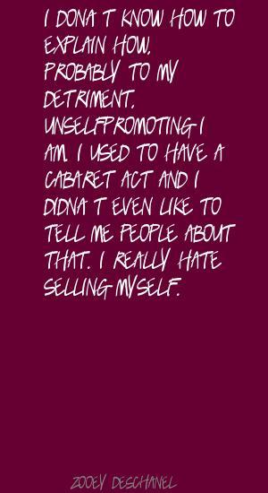 Detriment quote #1