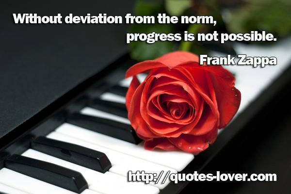 Deviation quote #1