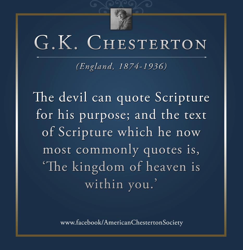 Devil quote #2