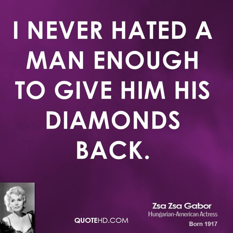 Diamonds quote #4