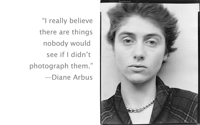 Diane Arbus's quote #4