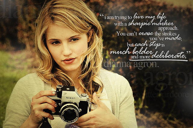 Dianna Agron's quote #5