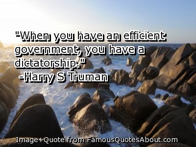 Dictatorship quote #1