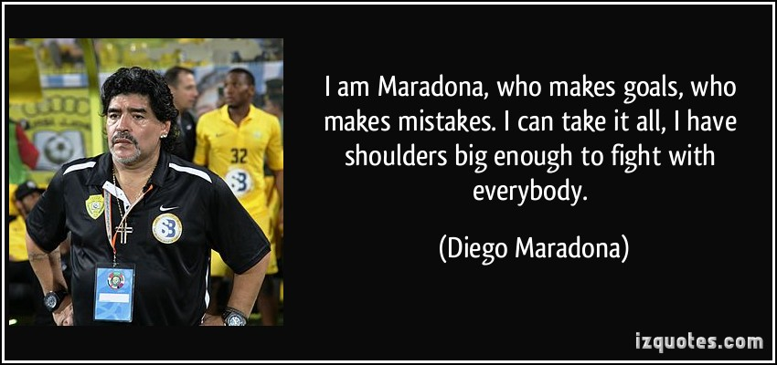 Diego Maradona's quote #7