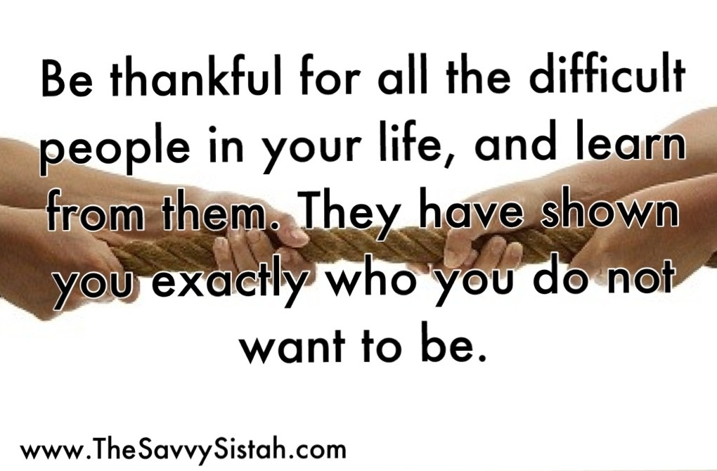Difficult People quote