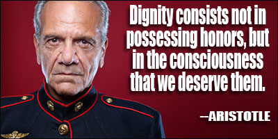Dignified quote #1