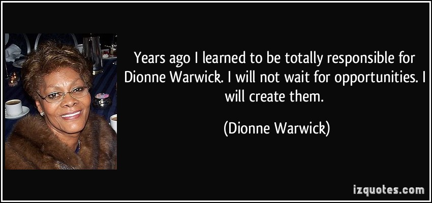 Dionne Warwick's quote #1