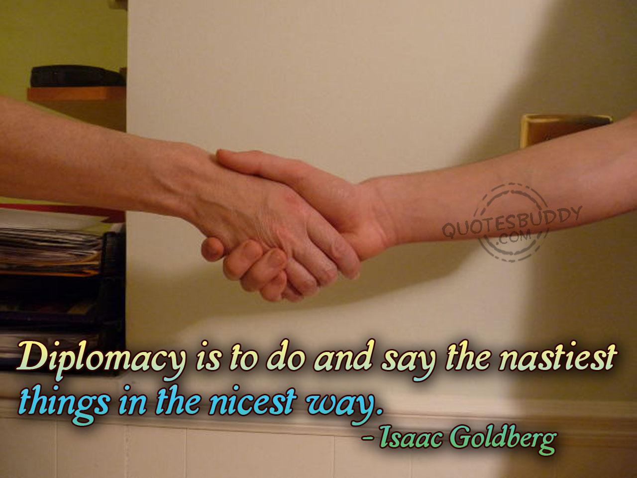 Diplomacy quote #2