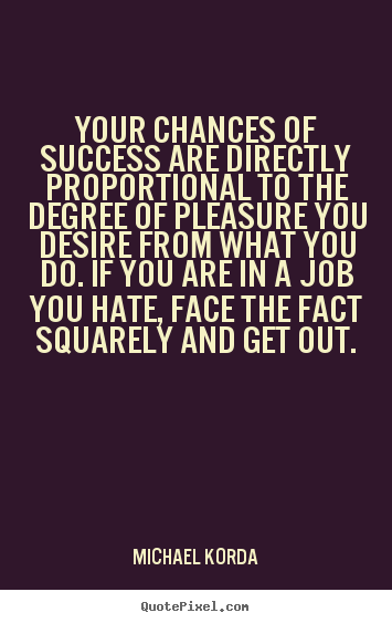Directly Proportional quote #2