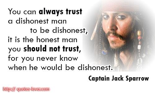 Dishonest quote #5