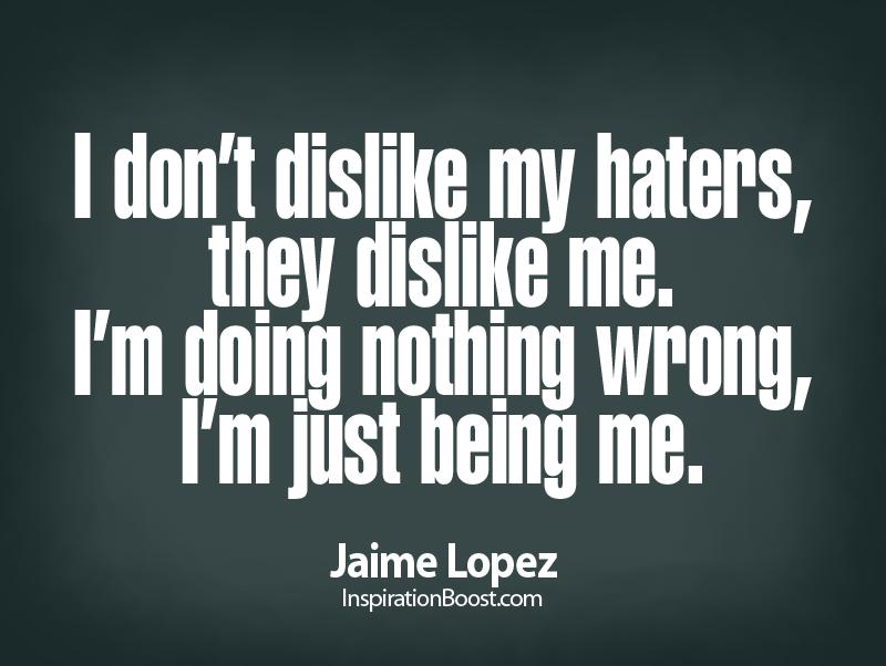 Dislike quote #1