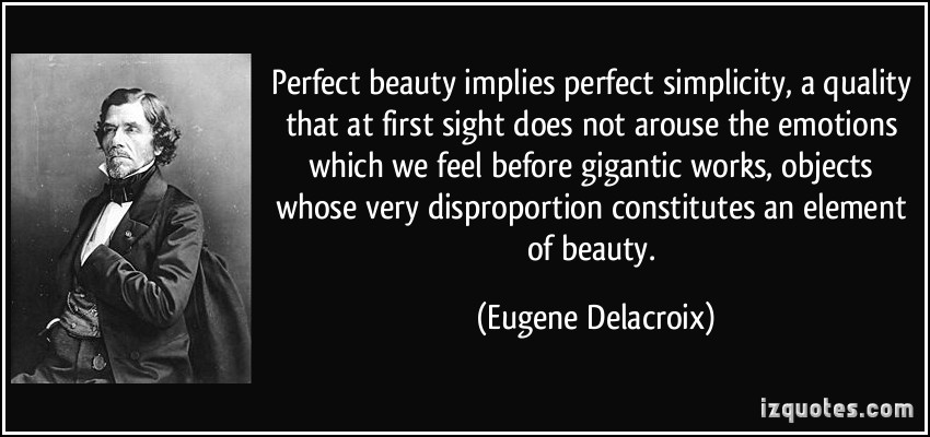 Disproportion quote #1