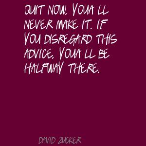 Disregard quote #1