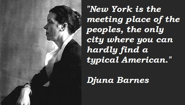 Djuna Barnes's quote #5