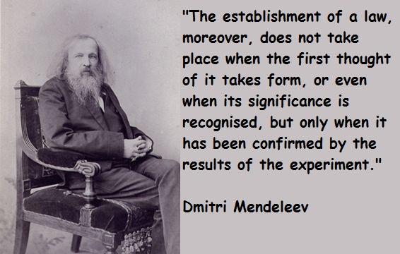 Dmitri Mendeleev's quote #6